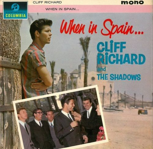 CLIFF RICHARD AND THE SHADOWS When In Spain Vinyl Record LP Columbia 1963